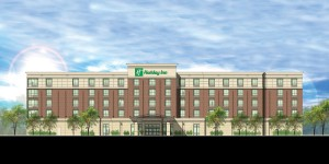 rendering of the Holiday Inn to be located in downtown owensboro.