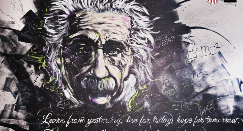 Albert Einstein Painting by Aaron Kizer