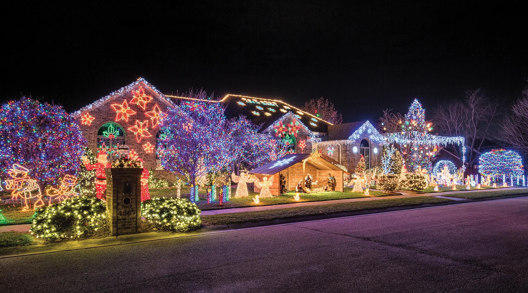The Owensboro Christmas Lights Map Living