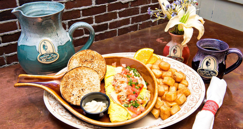 Broken Egg Cafe New Orleans Menu