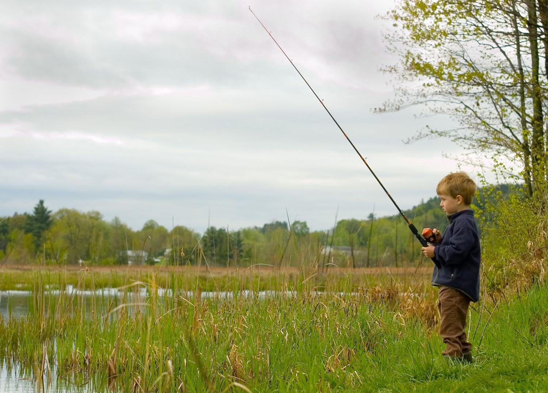 Take a kid fishing day owensboro living for Take a kid fishing