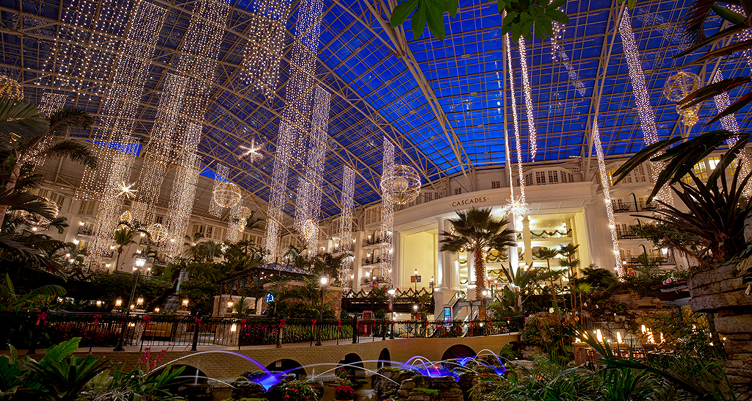 Opryland Christmas.Gaylord Opryland Resort Starts Christmas Preparations In