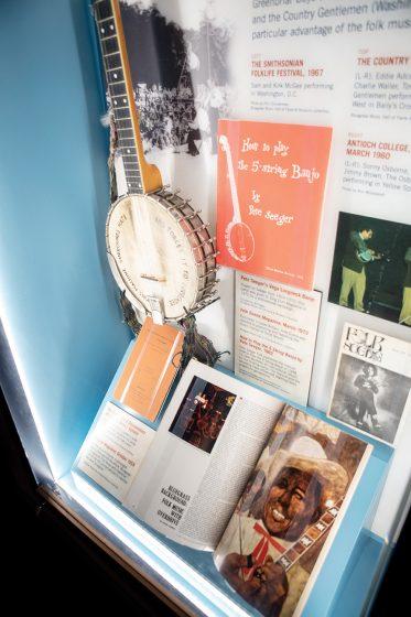 Bluegrass Music Hall of Fame & Museum Banjo Display