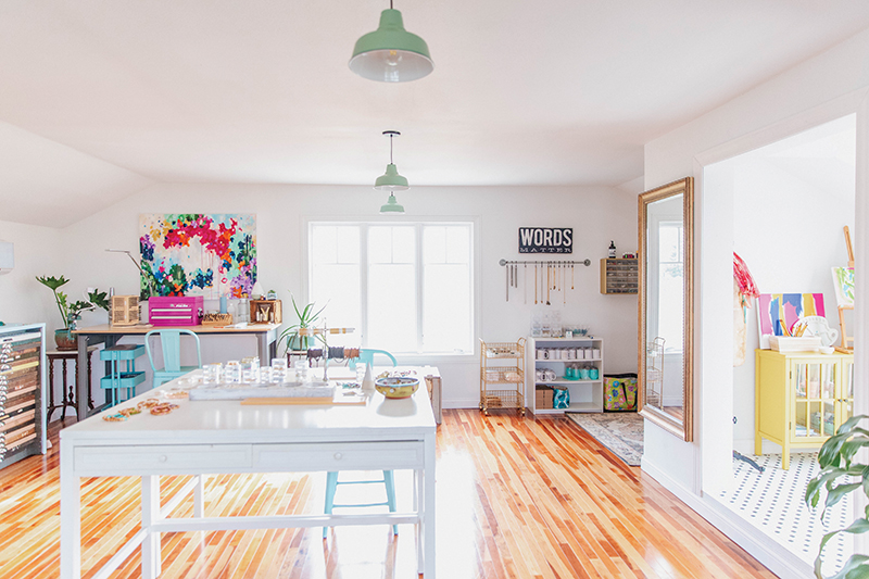 Jewelry studio of featured home on Pantle Point in Owensboro